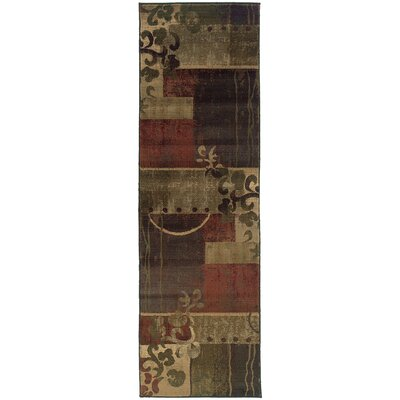 Burkhardt Area Rug Rug Size: Runner 23 x 76