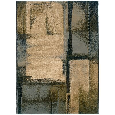 Kiley Beige/Blue Area Rug Rug Size: Rectangle 710 x 10