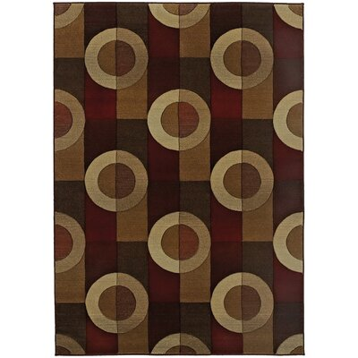 Meliton Geometric Brown/Beige�Area Rug
