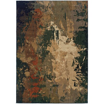 Fairhaven Brown Area Rug Rug Size: Rectangle 310 x 55