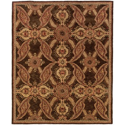 Lanesborough Hand-Tufte Brown Area Rug Rug Size: Rectangle 93 x 133