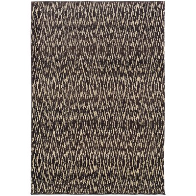 Feltner Ivory/Gray Area Rug Rug Size: Rectangle 99 x 122