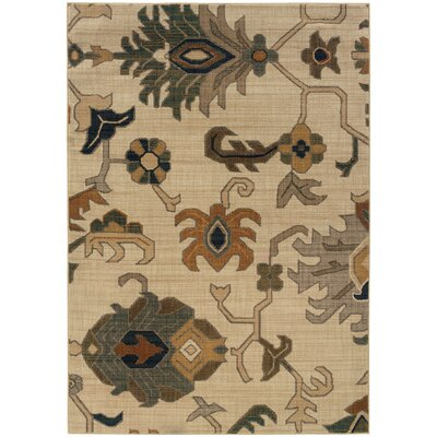 Nolan Beige Area Rug Rug Size: Rectangle 910 x 1210