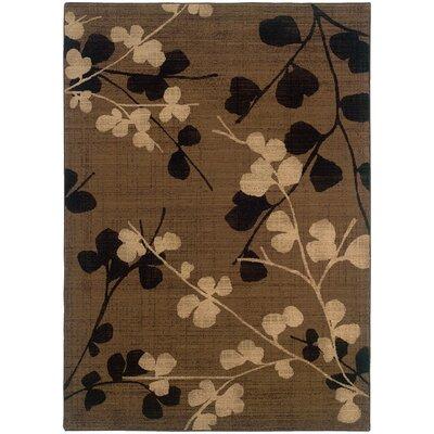 Galles Casual Wool Brown/Black�Area Rug