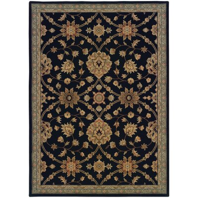 Coar Black /Blue Area Rug Rug Size: Rectangle 57 x 710