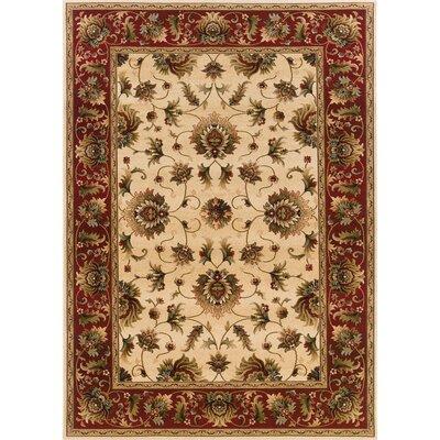 """Oriental Weavers Sphinx Knightsbridge Beige/Red Rug - Rug Size: 5'3"""" x 7'9"""" at Sears.com"""