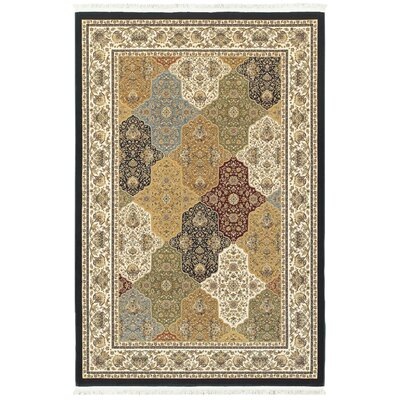 Knepp Panel Beige Area Rug Rug Size: Rectangle 53 x 76