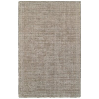 Grimes Plush Hand-Tufted Beige Area Rug Rug Size: Rectangle 8 x 10