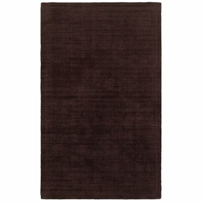 Grimes Plush Hand-Tufted Purple Area Rug Rug Size: Rectangle 5 x 8