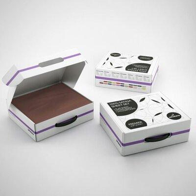 Clara Clark Setaluna Premier Satina Sheet Set - Color: Chocolate, Size: Extra-Long Twin