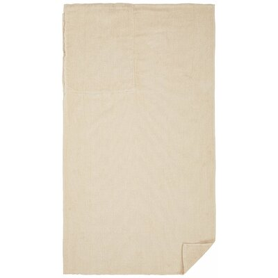 Cotton Beach Towel Color: Beige Cream