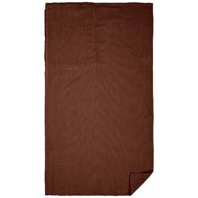 Cotton Beach Towel Color: Chocolate Brown