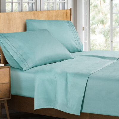 Supreme Sheet Set Color: Light Blue, Size: Full