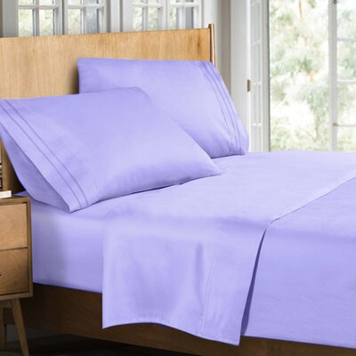 Supreme Sheet Set Size: Twin, Color: Lavender