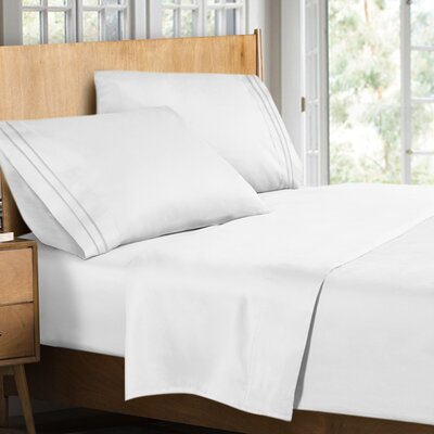 Supreme Sheet Set Size: King, Color: White