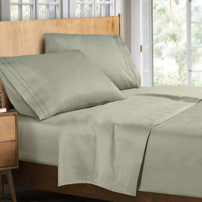 Supreme Sheet Set Size: Full, Color: Sage Green
