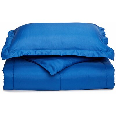 Neutral All Season Down Alternative Comforter Color: Royal Blue