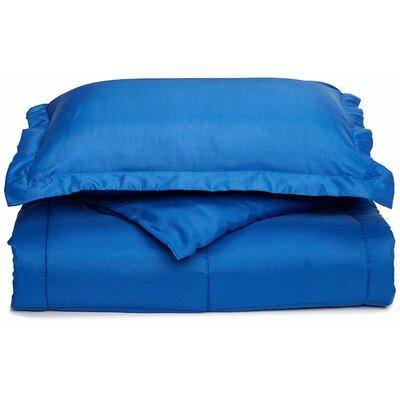 Neutral Down Alternative Comforter Color: Royal Blue