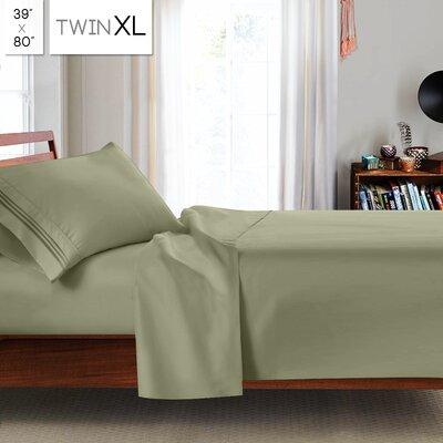 Beth Twin-XL 3pc Sheet Set Color: Sage