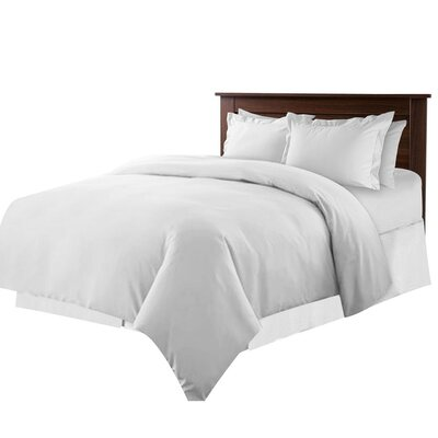 Bernardo 5 Piece Twin Duvet Set Color: Silver Gray