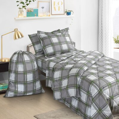 6 Piece Twin Bed-In-a-Bag Set