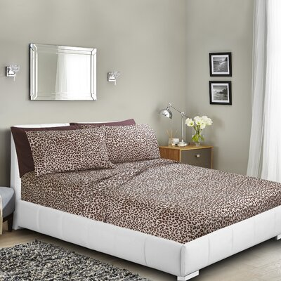 Neihart Printed Bed Sheet Set Size: Queen