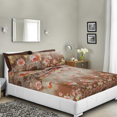 Castlehaven Printed Bed Sheet Set Size: Twin