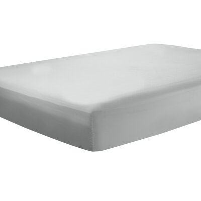 Mozelle Extra Deep Pocket Fitted Sheet Size: Queen, Color: Silver