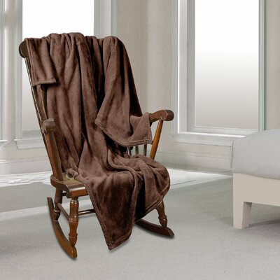 Al Ultra Cozy Warm Polar Fleece Blanket Color: Brown, Size: King
