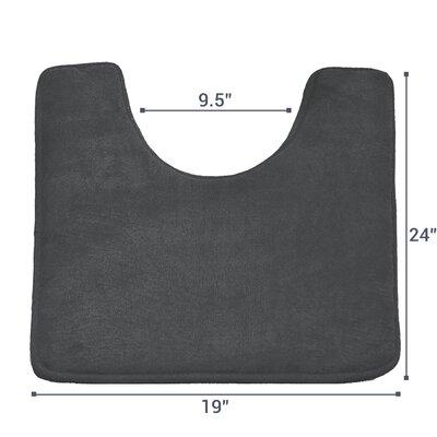 Ashland Memory Foam Contour Mat Color: Charcoal Grey