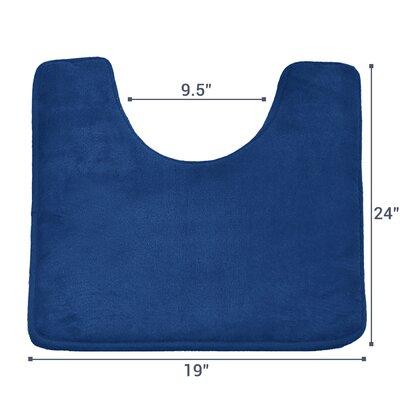 Ashland Memory Foam Contour Mat Color: Royal Blue