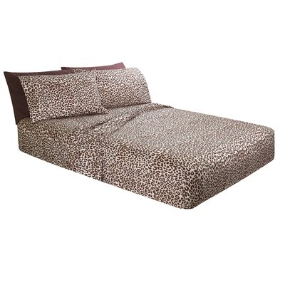 Truckee Animal Print Microfiber Sheet Set Size: Full/Double