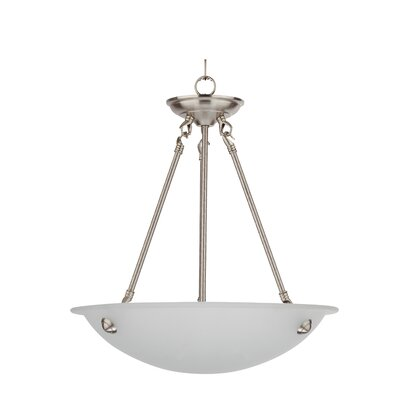 Austin 3-Light Bowl Pendant