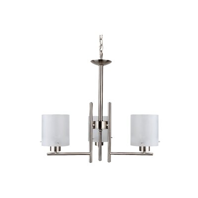 Dexter 3-Light Shaded Chandelier CH28051-3SS