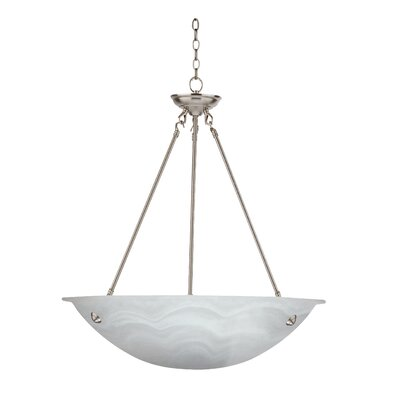 Alana 3-Light Bowl Pendant Size: 24 H x 16 W x 18 D