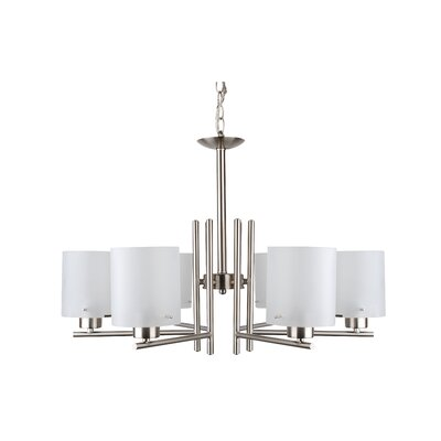 Dexter 6-Light Shaded Chandelier