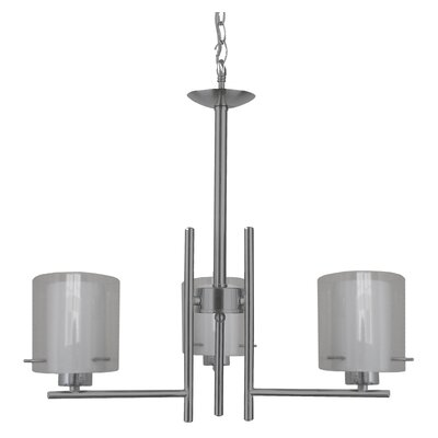 Dominic 3-Light Candle-Style Chandelier