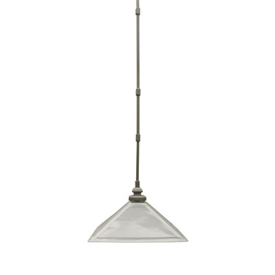 Sienna 1-Light Inverted Pendant Finish: Plush Nickel