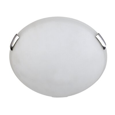 Charlie 2-Light Flush Mount Finish: Chrome