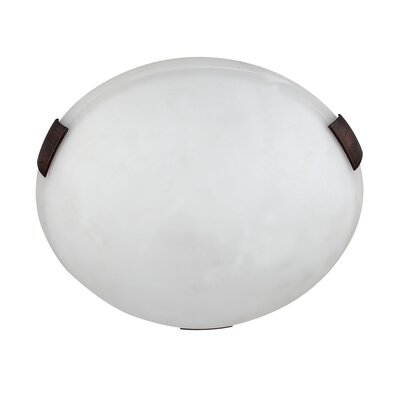 Charlie 2-Light Flush Mount Finish: Oil Rubbed Bronze