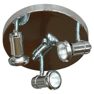 Sheldon 3-Light Spot Light Finish: Chrome