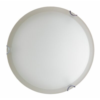 Dina 2-Light Flush Mount Finish: Chrome