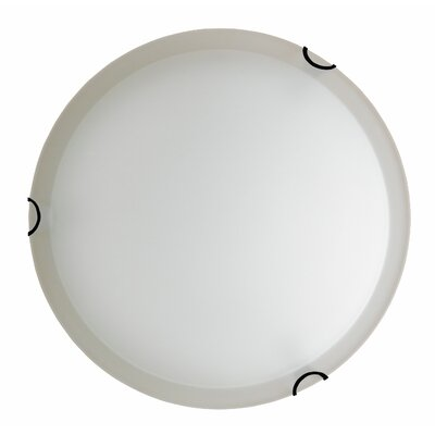 Dina 2-Light Flush Mount Finish: Ebony Bronze