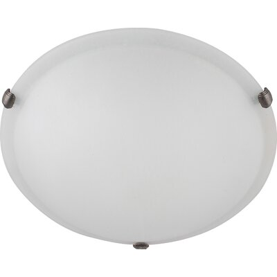 Madison 2-Light Flush Mount Finish: Coffee