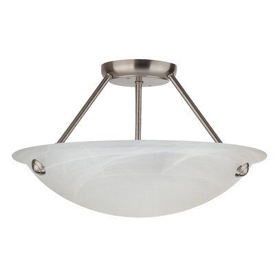 Alana 3-Light Semi Flush Mount