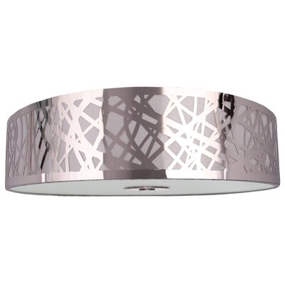 Clarens 2-Light Flush Mount