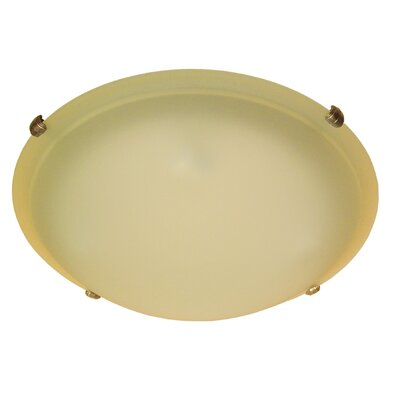 Carter 4-Light Flush Mount Finish: Burnt Copper