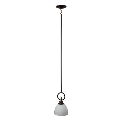 Kelsey 1-Light Mini Pendant Finish: Oil Rubbed Bronze