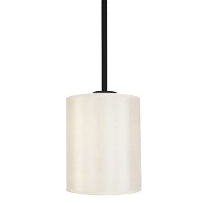 Falcon 1-Light Mini Pendant Finish: Ebony Bronze