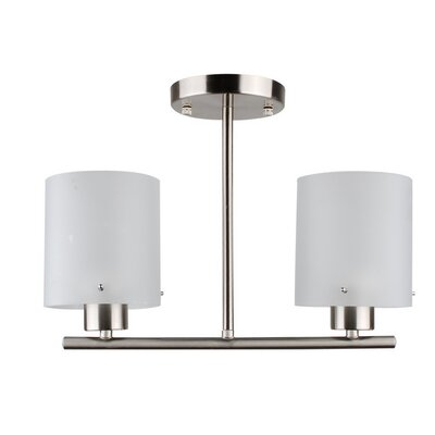 Dexter 2-Light Semi Flush Mount